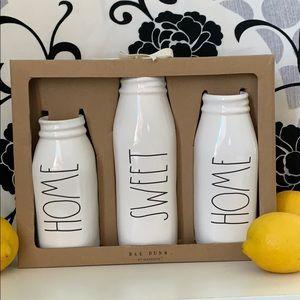 Rae Dunn Home Sweet Home Vases